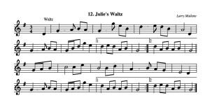 12 Julie's Waltz