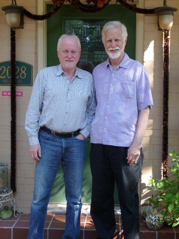 with Matt Cranitch at home 2012